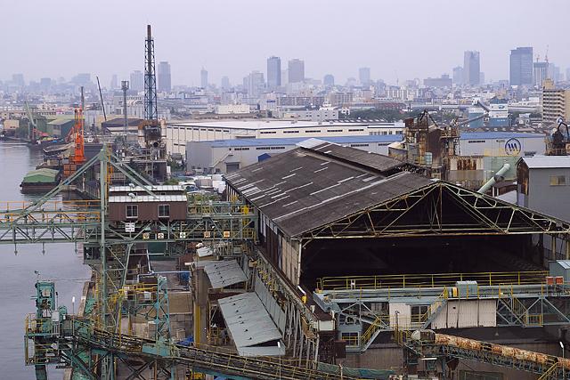 工業地帯 大阪