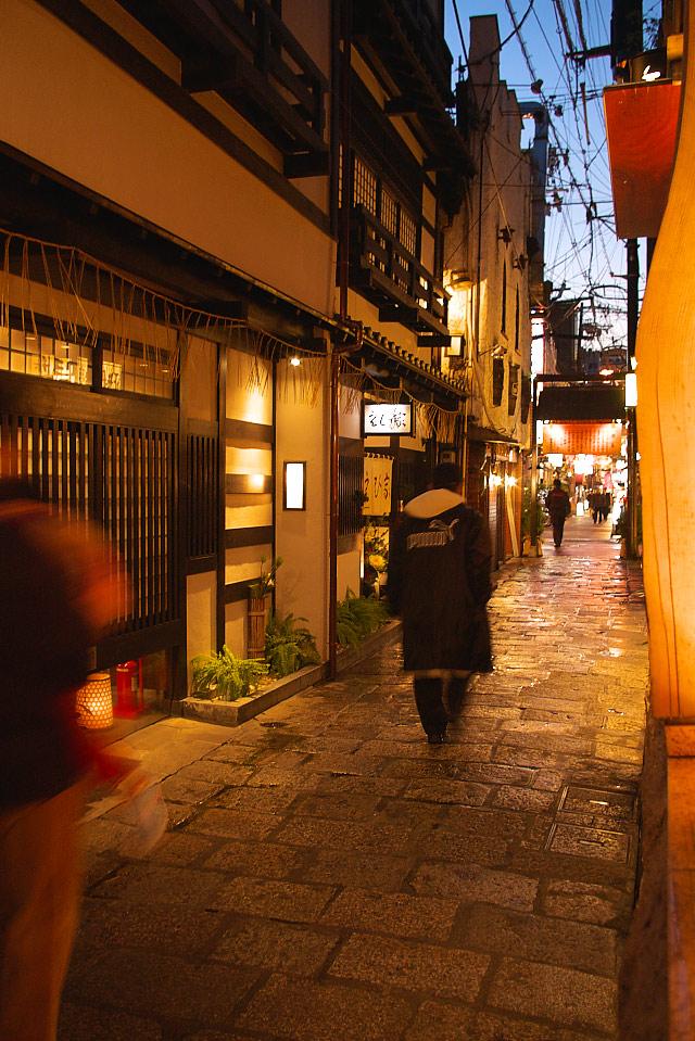 法善寺横丁の夕景