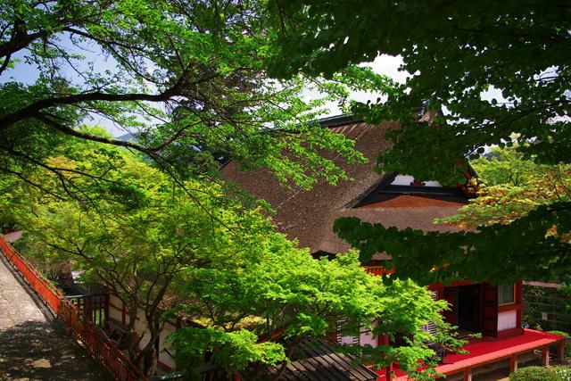談山神社拝所