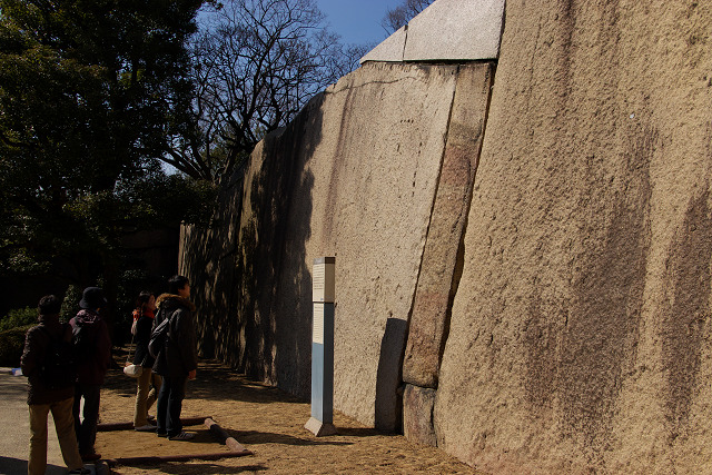 大阪城巨石