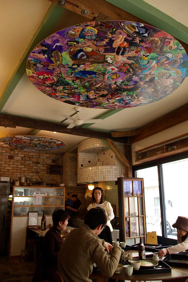 福島 聖天通りの蕎麦屋さん