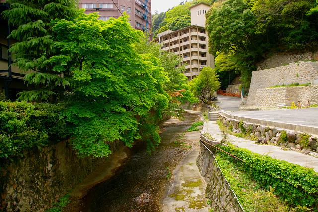 有馬滝川の新緑