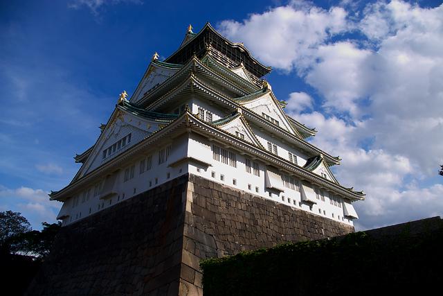 大阪城天守閣・空
