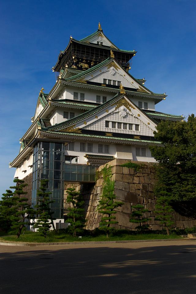 久々に・・・大阪城へ