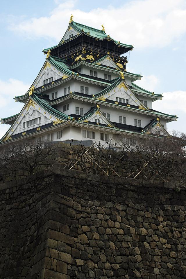 もう一枚、大阪城天守閣