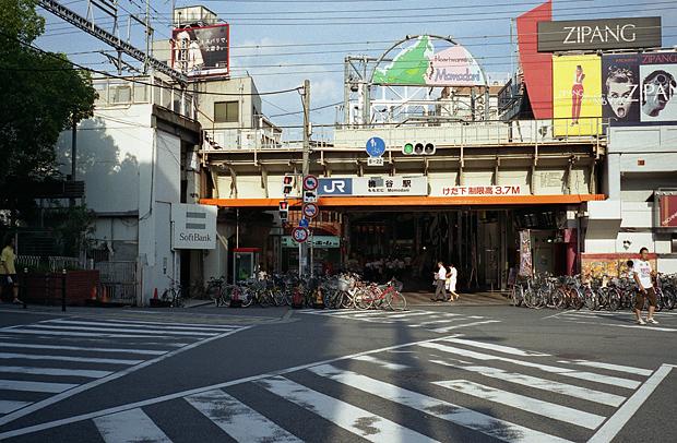 JR桃谷駅