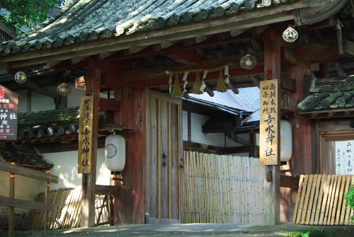 吉水神社と一目千本_1