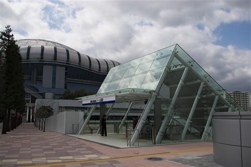 阪神電車なんば線ドーム前駅_1
