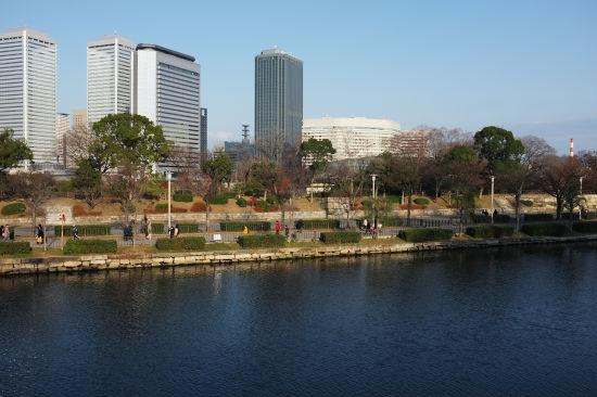 新春の大阪城_2
