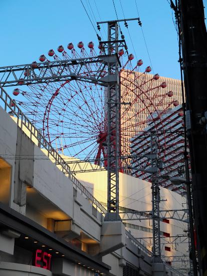 ある夏の夕方-大阪-