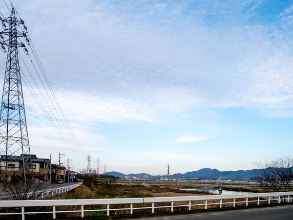 鉄塔のある景色