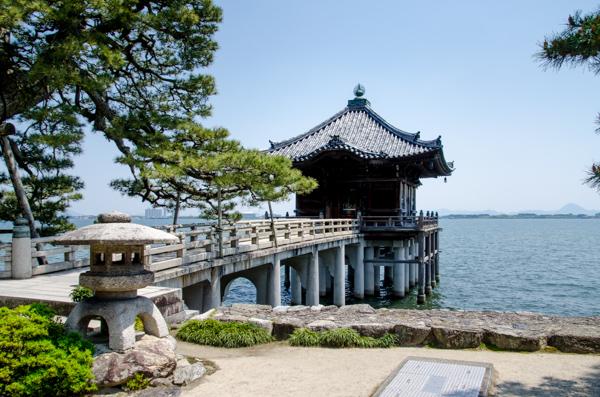 琵琶湖・堅田・浮御堂