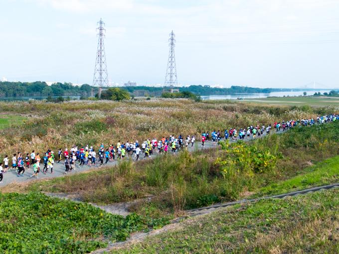 淀川市民マラソン ー 淀川サイクリングロードから自転車は実質締め出し。_1