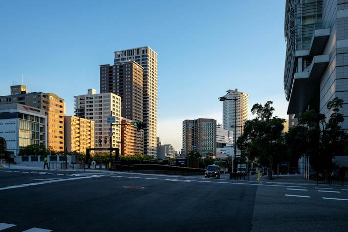 大阪・堂島 朝06:30
